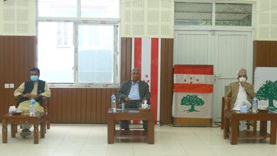 Photo of सभापति देउवा निवासमा कांग्रेस पदाधिकारी बैठक जारी