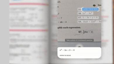 Photo of अब गूगल लेन्सले नै समाधान गरिदिनेछ गणितको हिसाब, यसरी गर्नुहोस् प्रयोग