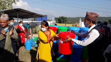 Photo of वीरेन्द्रनगर १० का एक सय घरधुरीमा हातधुने स्तेशन निर्माण