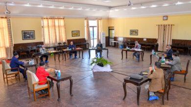 Photo of नेकपा सचिवालय बैठक सकियो, अर्को बैठक दश दिनपछि बस्ने