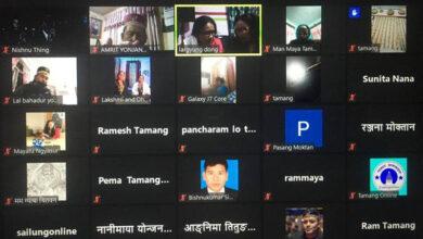 Photo of मौलिक गीतको संरक्षणमा जुट्दै तामाङ समुदाय