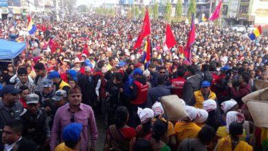 Photo of राजतन्त्र फर्काउन झापामा र्याली