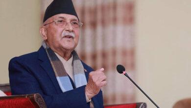 Photo of प्रधानमन्त्री ओली नेपाल र बंगलादेशबीचको फाइनल खेल हेर्न दशरथ रंगशाला जाने