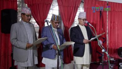 Photo of कर्णालीमा तीन मन्त्रीले लिए पद तथा गोपनीयताको सपथ (भिडियाे सहित)