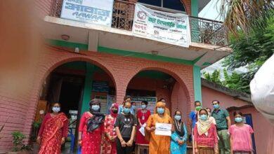 Photo of हिंसा पीडित महिलाहरूलाई आर्थिक सहयोग