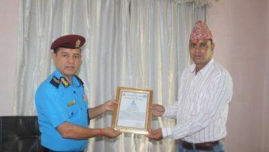 Photo of शर्मा बने सर्वोत्कृष्ट प्रहरी